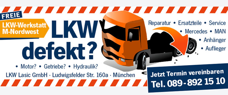 Freie LKW Werkstatt in München